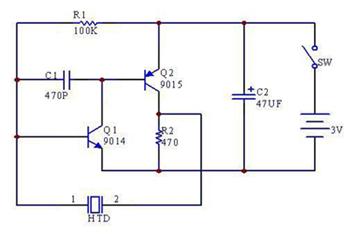压电式蜂鸣器的概述