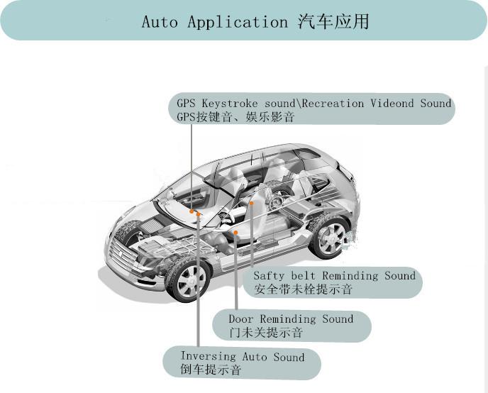 汽車蜂鳴器的作用與結構原理