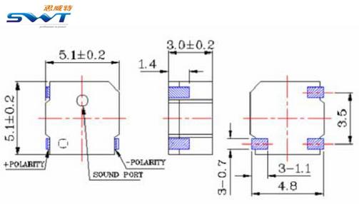 方形贴片蜂鸣器-思威特资讯