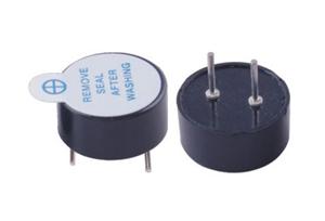 压电式无源蜂鸣器 直径12mm 频率4KHz PED12060P40030XBAB